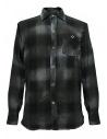 Camicia a quadri Rude Riders colore grigio scuro acquista online P94404-85145-SHIRT