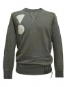 Rude Riders gray patched sweater buy online P94170-53805-SWEATER