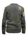 Rude Riders gray patched sweater shop online mens knitwear