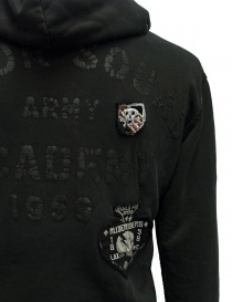 Rude Riders dark gray hooded sweater mens knitwear buy online
