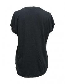 T-shirt Rude Riders con borchie colore grigio scuro