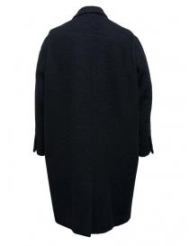 Cappotto Miyao in lana colore blu
