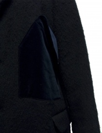 Cappotto Miyao in lana colore blu prezzo