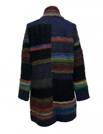 Fuga Fuga multicolor wool coat
