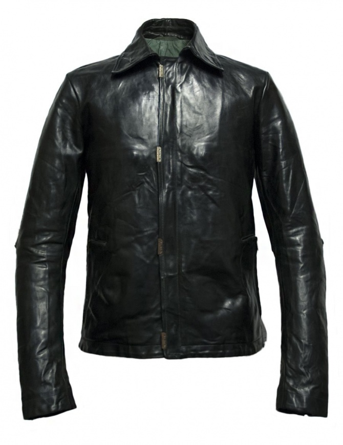 Carol Christian Poell Scarstitched 2498 horse leather jacket LM-2498-CORS-PTC-12 mens jackets online shopping