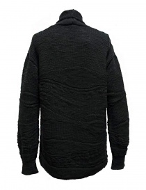 Cardigan Fuga Fuga in lana colore grigio scuro