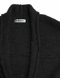 Fuga Fuga dark grey wool cardigan price