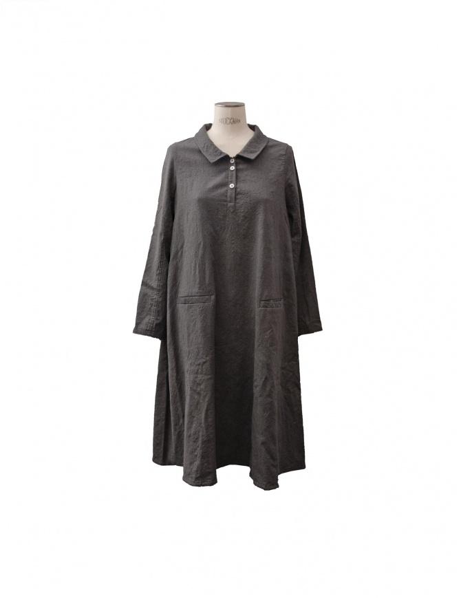 Casey Vidalenc dress in grey wool FR196 GREY womens dresses online shopping