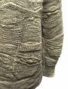 Cardigan Fuga Fuga in lana colore beige FAGA-127-31 acquista online