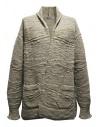 Cardigan Fuga Fuga in lana colore beige acquista online FAGA-127-31