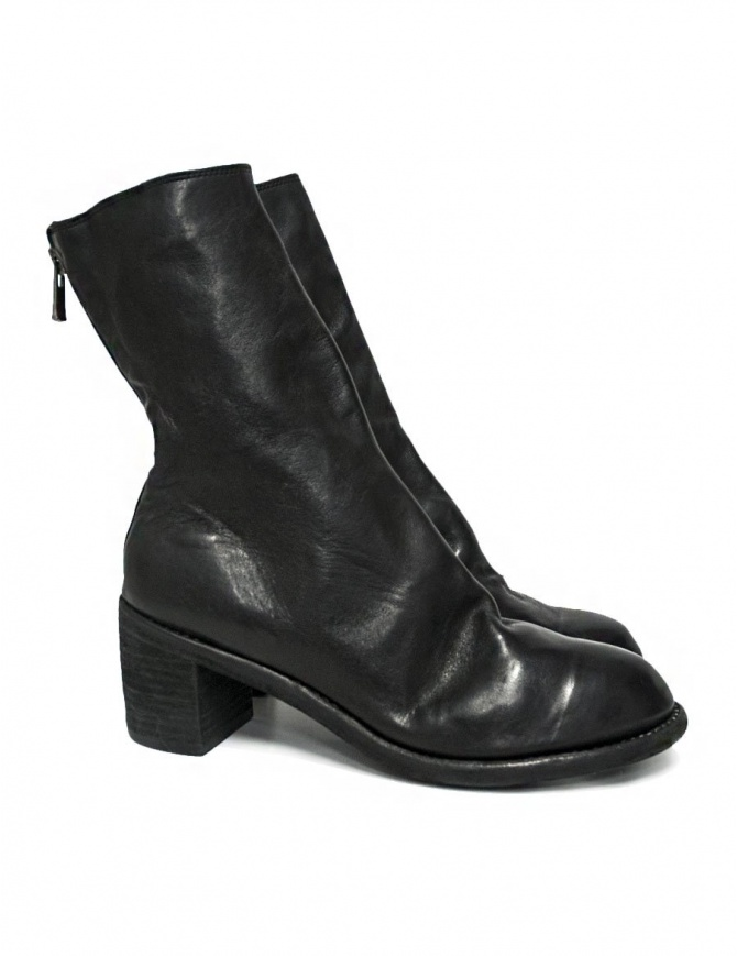 Guidi M88 black leather ankle boots M88 SOFT HORSE FULL GRAIN BLK womens shoes online shopping