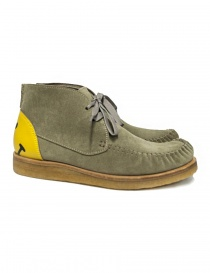 Kapital Wallaby grey suede leather shoe K1909XG564 BEIGE SHOES