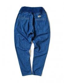Pantalone Kapital con elastico colore blu acquista online