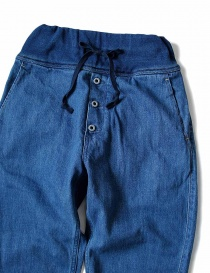 Kapital blue trousers with elastic band price
