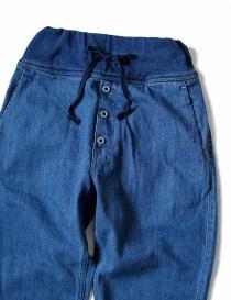 Pantalone Kapital con elastico colore blu prezzo