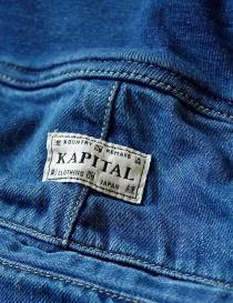 Pantalone Kapital con elastico colore blu pantaloni donna acquista online