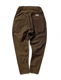 Kapital brown trousers with elastic band K1709LP800-BROWN-PANTS