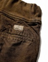 Pantalone Kapital con elastico colore marrone K1709LP800 BROWN PANTS prezzo