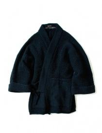 Giacca kimono Kapital in lana blu EK- 578 NAVY JACKET