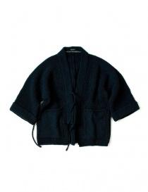 Giacca kimono Kapital in lana blu online