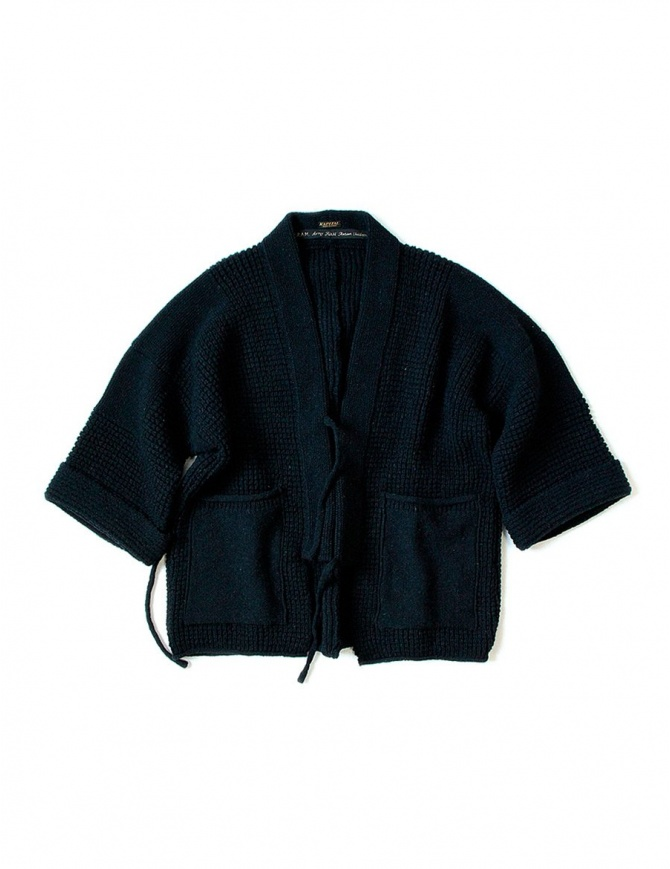 Giacca kimono Kapital in lana blu EK- 578 NAVY JACKET giacche donna online shopping