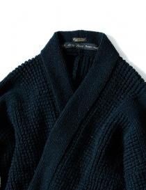 Giacca kimono Kapital in lana blu prezzo