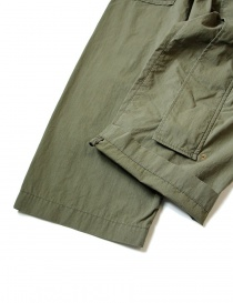 Kapital green cargo trousers with elastic band price