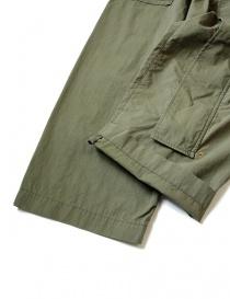 Pantalone cargo Kapital verde con elastico prezzo
