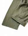 Kapital green cargo trousers with elastic band K1709LP082 KHAKI PANTS price
