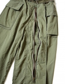Kapital green cargo trousers with elastic band mens trousers buy online
