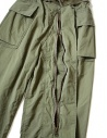 Kapital green cargo trousers with elastic band K1709LP082-KHAKI-PANTS buy online