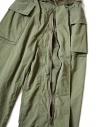 Pantalone cargo Kapital verde con elastico K1709LP082 KHAKI PANTS acquista online