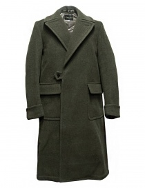 Mens coats online: Haversack Attire light green coat