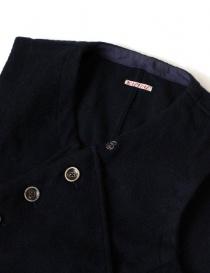 Kapital blue wool gilet price