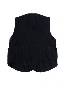 Kapital blue wool gilet buy online