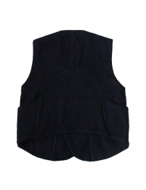 Kapital blue wool vest
