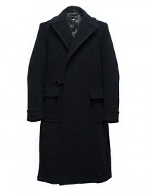 Mens coats online: Haversack Attire navy blue coat