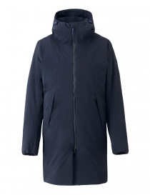 Mens coats online: Allterrain by Descente Thermo Insulated green navy coat