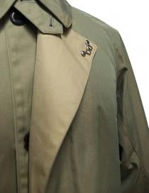 Cappotto Haversack colore beige cappotti uomo prezzo