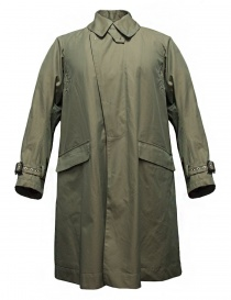 Mens coats online: Haversack beige coat