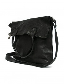 Borsa Guidi MR09 in pelle nera