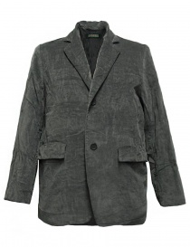 Mens suit jackets online: Casey Casey grey velvet jacket