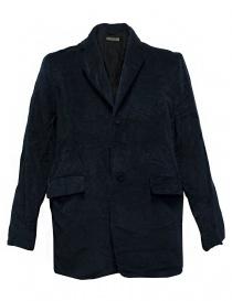 Casey Casey navy velvet jacket 09HV145-VEL-NAVY