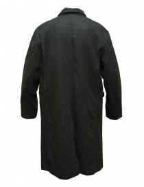 Cappotto Casey Casey in lana grigio verde acquista online