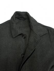 Cappotto Casey Casey in lana grigio verde prezzo