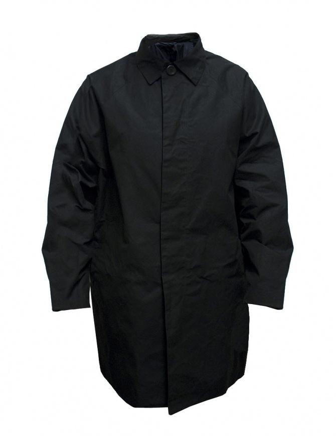 Cappotto Casey Casey in cotone cerato colore nero 09HM49-H-WAX-BLK cappotti uomo online shopping