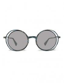 Occhiale da sole Kuboraum Maske H10 in metallo colorato online