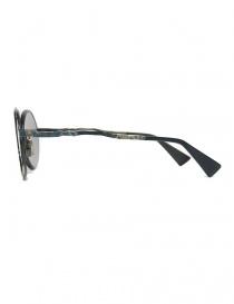 Occhiale da sole Kuboraum Maske H10 in metallo colorato prezzo