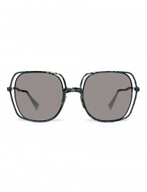 Glasses online: Kuboraum Maske H14 colored metallic sunglasses