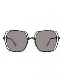 Occhiale da sole Kuboraum Maske H14 in metallo colorato H14-48-21-BG-BSILVER order online